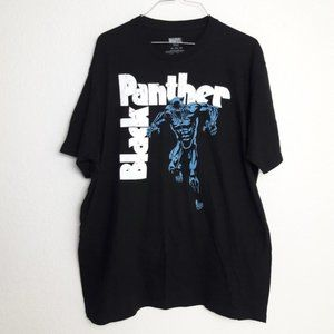 Marvel Black Panther Graphic Tee Shirt XL T